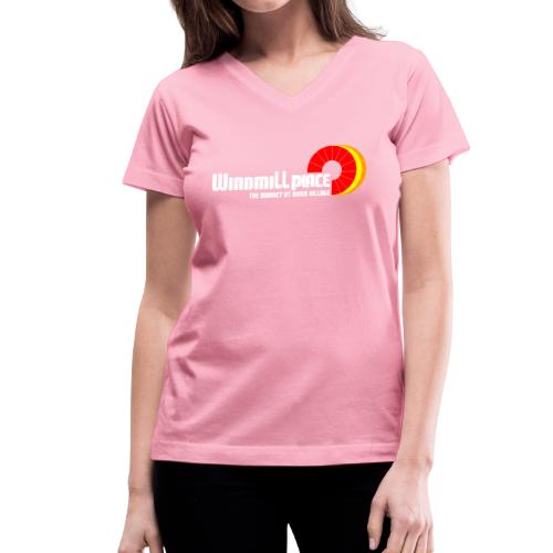 Windmill Place - Women's V-Neck T-Shirt