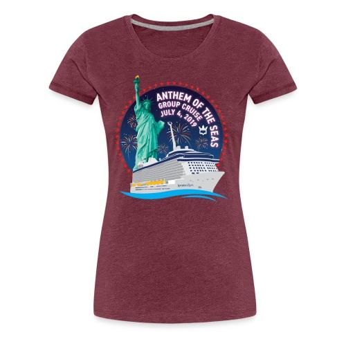 Women's Anthem GC Shirt - Women's Premium T-Shirt