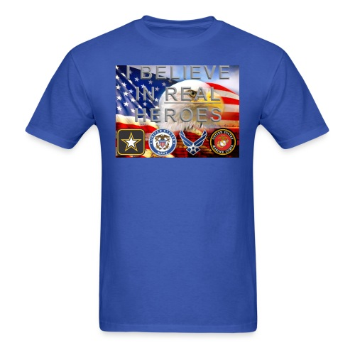 real heroes m c - Men's T-Shirt