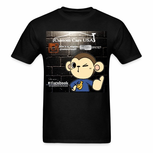 CCU Monkey Logos - Men's T-Shirt