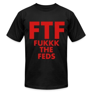 FTF Tee - Men's T-Shirt by American Apparel