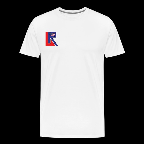 Lets Ride USA Corner Logo Shirt - Men's Premium T-Shirt