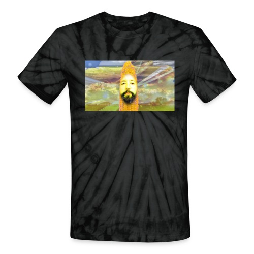 All hail the corn gods of E85! - Unisex Tie Dye T-Shirt