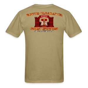 682nd En Batt - RC Sapper Back Only - Men's T-Shirt