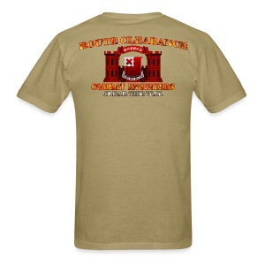 875th En Batt - RC Sapper Back Only - Men's T-Shirt