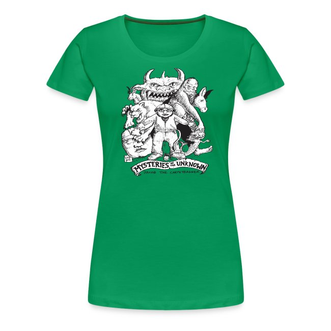 Woman's Mysteries of the Unknow Shirt