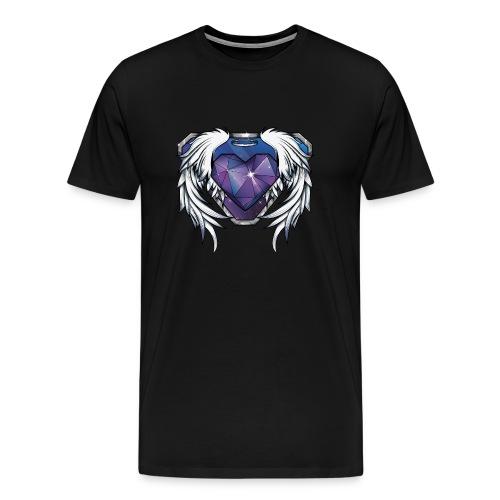 Mens AngelMelly Stone Logo - Men's Premium T-Shirt