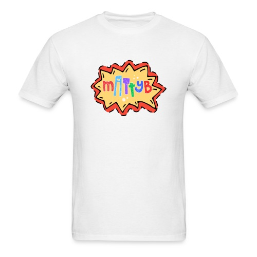 Adult MattyB Cartoon - Men's T-Shirt
