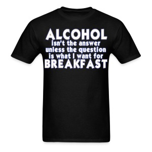 Breakfast - Men's T-Shirt