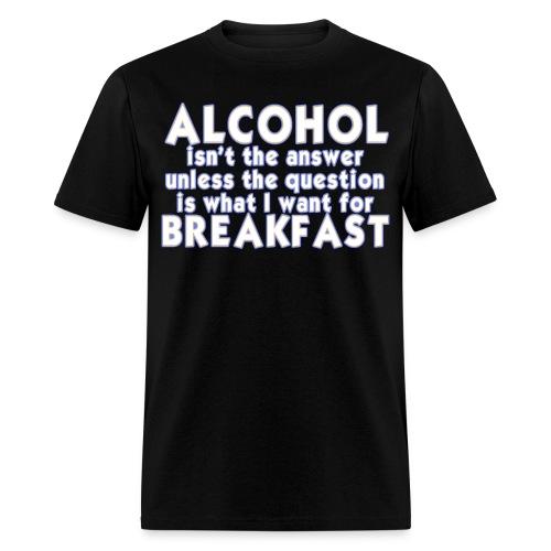 Breakfast - Men's T-Shirt