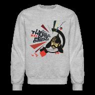Long Sleeve Shirts ~ Men's Crewneck Sweatshirt ~ I move to the groove of the People's Director: Sweatshirt