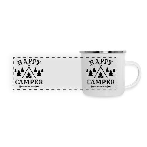 Happy Camper Camper Mug - Panoramic Camper Mug