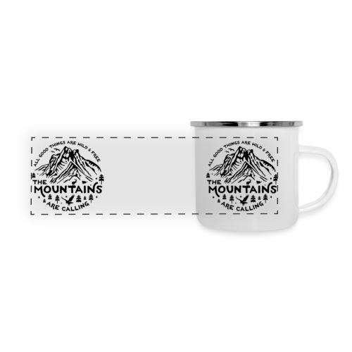 The Mountains are Calling Camper Mug - Panoramic Camper Mug