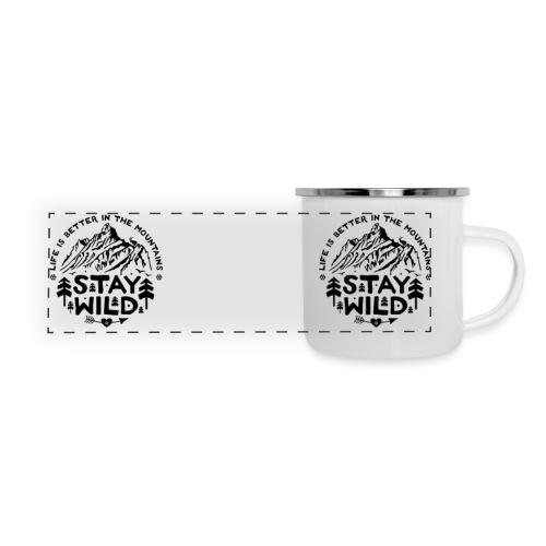 Stay Wild Camper Mug - Panoramic Camper Mug