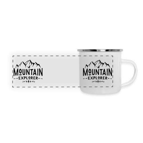 Mountain Explorer Camper Mug - Panoramic Camper Mug