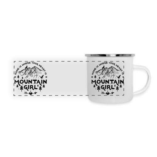 Mountain Girl Camper Mug - Panoramic Camper Mug