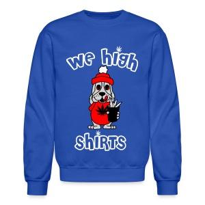 We High Slush Puppy Logo Crewneck - Crewneck Sweatshirt