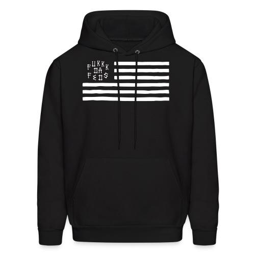 Fukkk Da Feds Flag Hoodie - Men's Hoodie