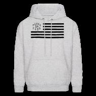 Hoodies ~ Men's Hoodie ~ Fukkk Da Feds Flag Hoodie