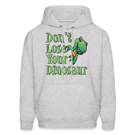 Hoodies ~ Men's Hoodie ~ Don't Lose Your Dinosaur Stepbrothers