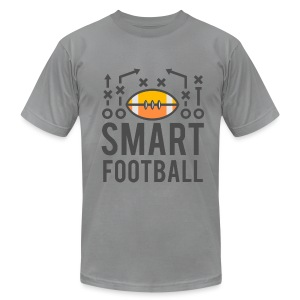 Smart Football Classic T-Shirt - Men's T-Shirt by American Apparel