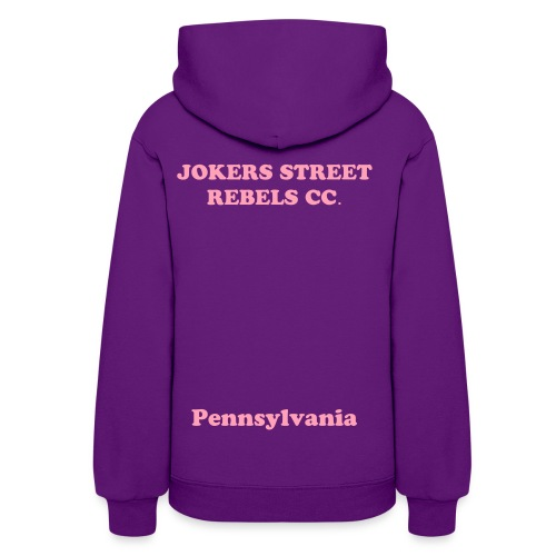 JOKERS STREET REBELS CC HOODIE (FIRST LADY VERSION) - Women's Hoodie