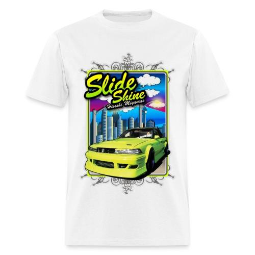 Slide Shine #3 (White) - Men's T-Shirt