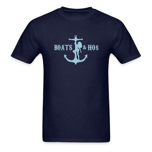 Boats and Hos - Men's T-Shirt