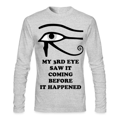 EYE OF HERU LONG SLEEVE - Men's Long Sleeve T-Shirt by Next Level