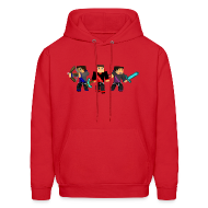 Hoodies ~ Men's Hoodie ~ Lets Fight!