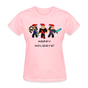 Happy Holidays! - Women's T-Shirt