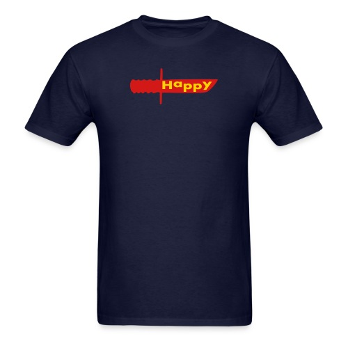 Happy Knife - Men's T-Shirt