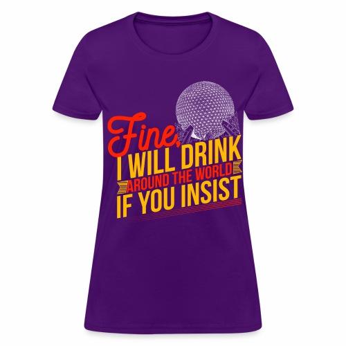Drinking Around the World Women - Women's T-Shirt