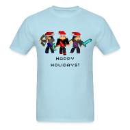 T-Shirts ~ Men's T-Shirt ~ Happy Holidays!