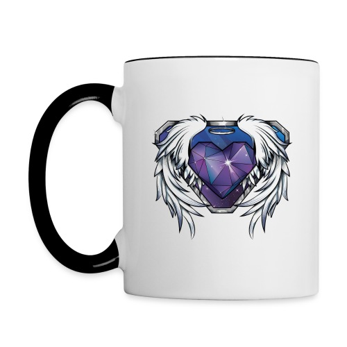 Stone Heart Mug - Contrast Coffee Mug