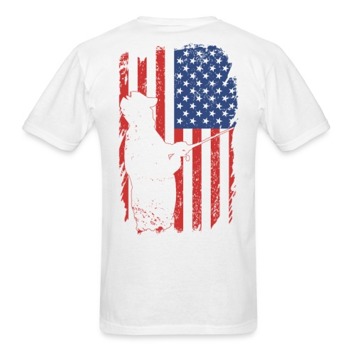 Small Front / Flag (cotton) - Men's T-Shirt