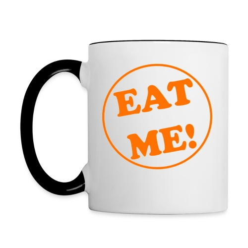Stan The Muffin Man Eat Me! - Ceramic Mug - Contrast Coffee Mug