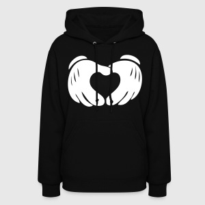 Heart Hands Hoodies - stayflyclothing.com - Women's Hoodie