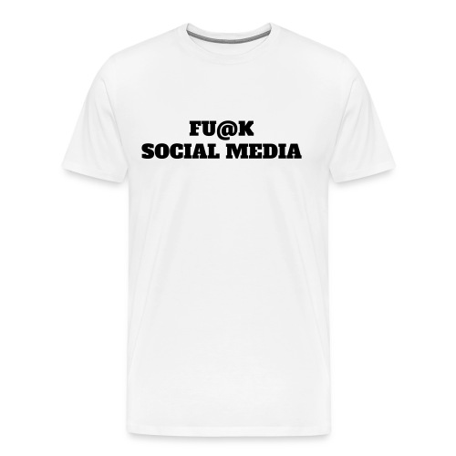 F SOCIAL MEDIA TSHIRT - Men's Premium T-Shirt