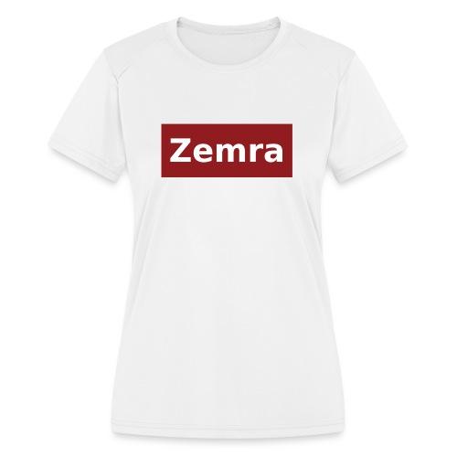 Zemra Performance T - Women's Moisture Wicking Performance T-Shirt