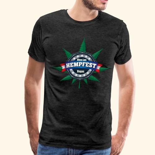 Men's Viva Las Hempfest Tee shirt - Men's Premium T-Shirt