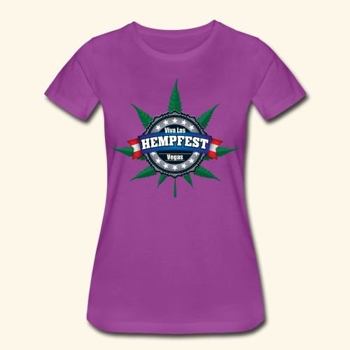 Ladies' Viva Las Hempfest Tee - Women's Premium T-Shirt