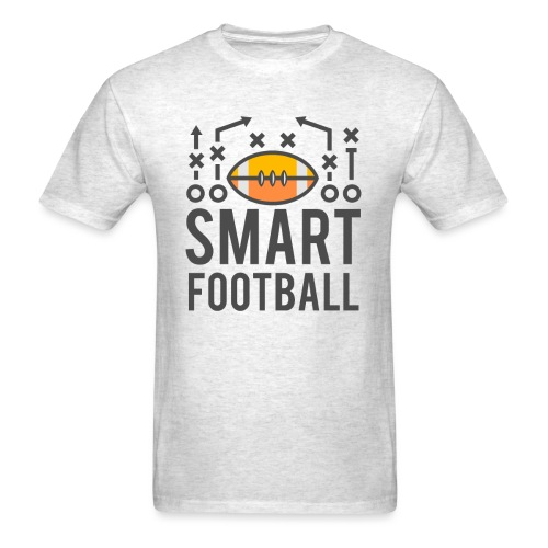 Smart Football Classic T- Shirt - Grey - Men's T-Shirt