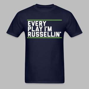 Every Play I'm Russellin' - Men's T-Shirt