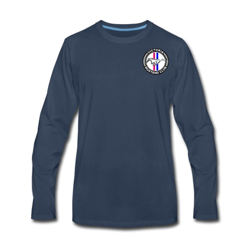 Men's VMC Logo Long Sleeve Shirt - Men's Premium Long Sleeve T-Shirt