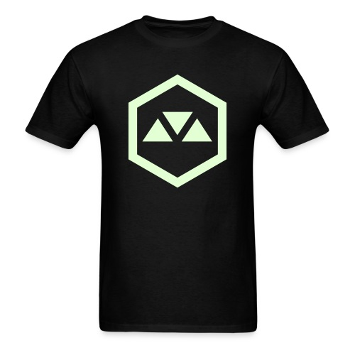 MOVEMENT GLOW LOGO - Men's T-Shirt
