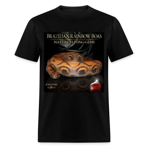 Living Gems Almandine T-Shirt (Men's Standard) - Men's T-Shirt