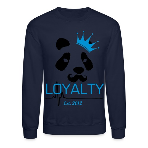 Loyalty Panda King Crewneck - Crewneck Sweatshirt
