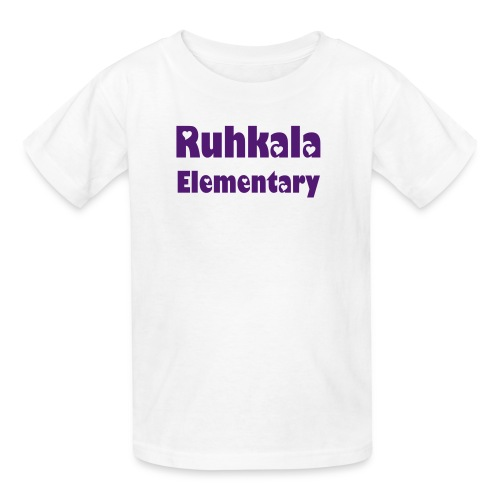 Youth Ruhkala Shirt - Girl's heart lettera - Kids' T-Shirt