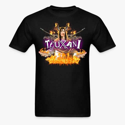 LOGO TOUXANI + MECHA-JÉSUS - T-shirt pour hommes